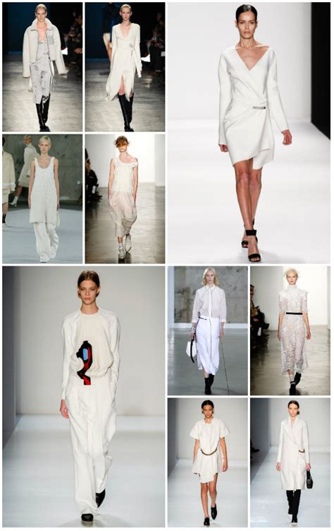 Trend Report Like White On Rice In New York City Second City Style Fashion Second City Style 5 by New York Fashion Week Trend Report