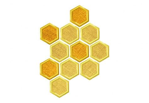 honeycomb pattern name honeycomb machine embroidery design by embroiderystore