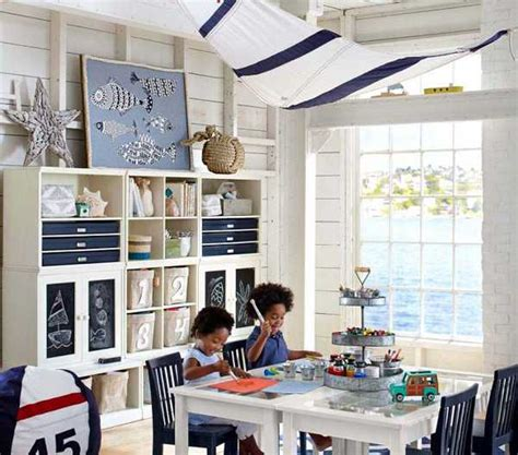 Nautical Childrens Room Decor by Nautical Decorating Ideas For Rooms From Pottery Barn