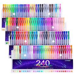 coloring book for adults national bookstore price tanmit 240 gel pens set for coloring books doodling