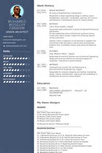 Architectural Consultant Sle Resume by Senior Architect Resume Sles Visualcv Resume Sles Database