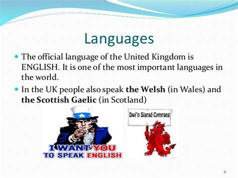 language uk united kingdom europe