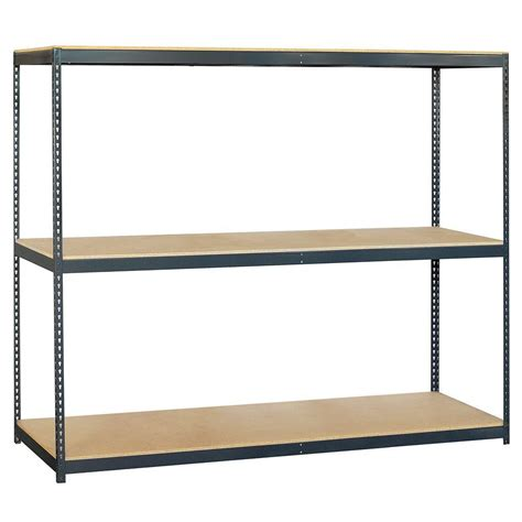 home shelving salsbury industries 9700 series 96 in w x 84 in h x 24