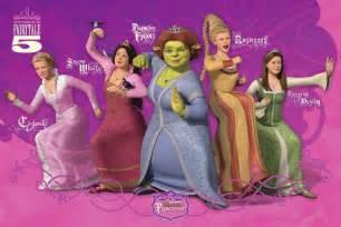 shrek 3 princess poster sold europosters