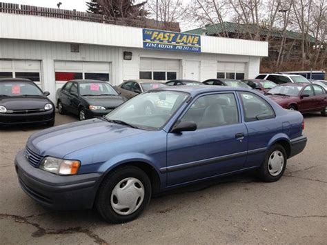 Toyota Tercel 1999 1999 Toyota Tercel Ce Calgary Alberta Used Car For Sale