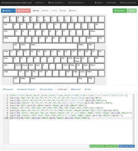 keyboard layout maker gh60 revchn satan pcb with hhkb layout
