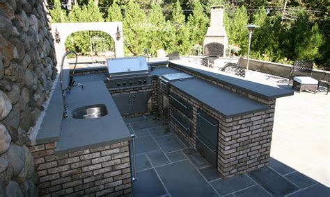 custom built outdoor kitchens 2010 big u shaped kitchen