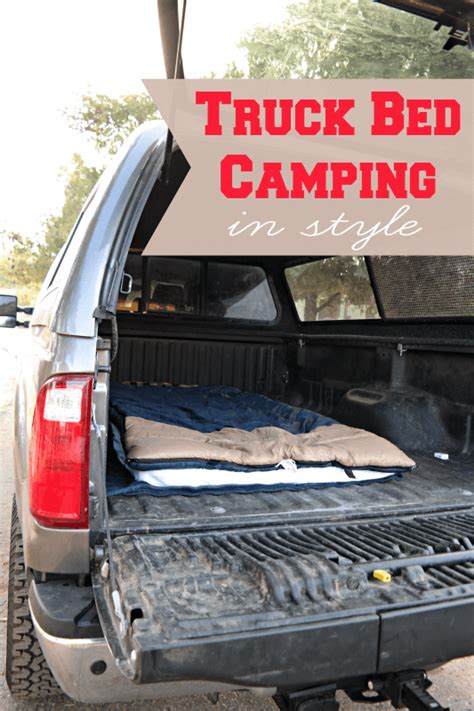 Truck Bed Camping in Style   Someday I'll Learn