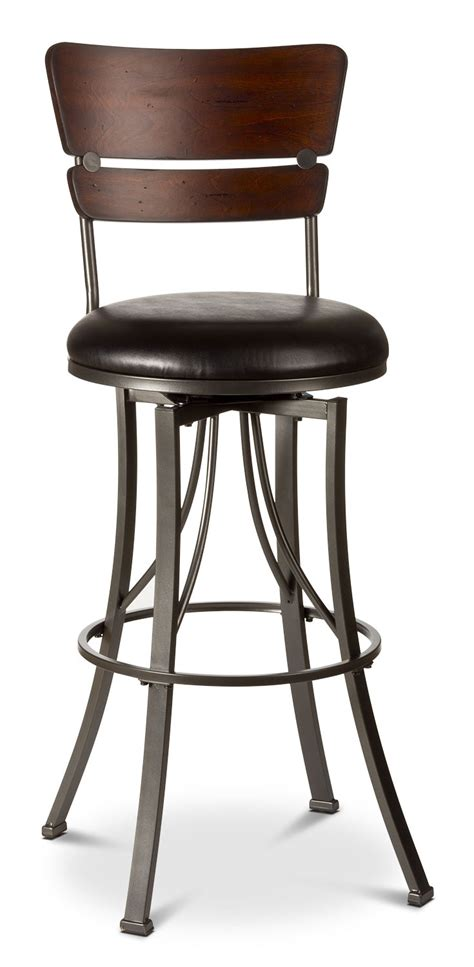 swivel counter height bar stools santa monica counter height swivel stool set of 2 the brick