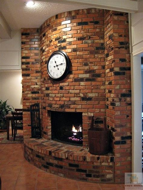 Fireplace Forum by Tile Floor Meets Brick Hearth