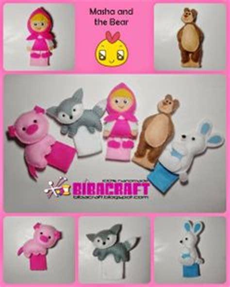 Boneka Peekaboo biba craft collection finger puppets boneka jari angry