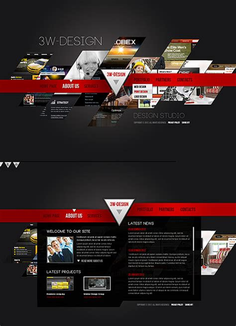 Design Studio Templates design studio html5 template best website templates