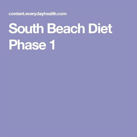 South Diet Phase 1 Detox by 1000 Ideas About South Diet On Low Carb