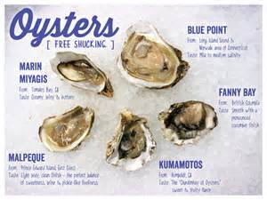 this summer s oyster menu mollie s kitchen