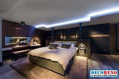 Home Design N Decor by Optez Pour Un Plafond Moderne Avec Un 233 Clairage 224 Rubans Led