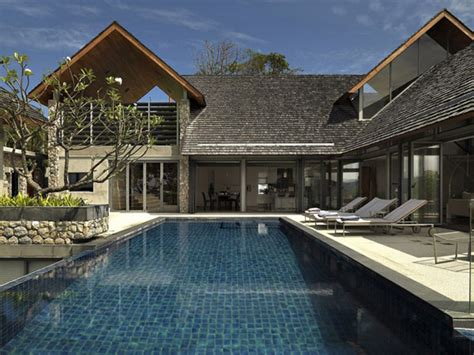 modern home design thailand villa in thailand combining asian furnishings with a high