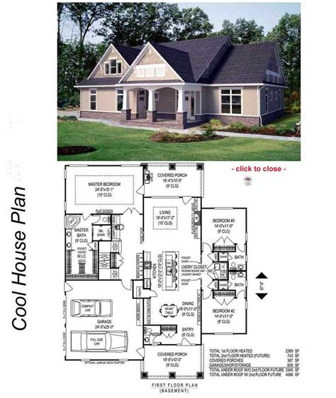 Bungalow House Plan Bungalow House Plans Easy Home Decorating Ideas