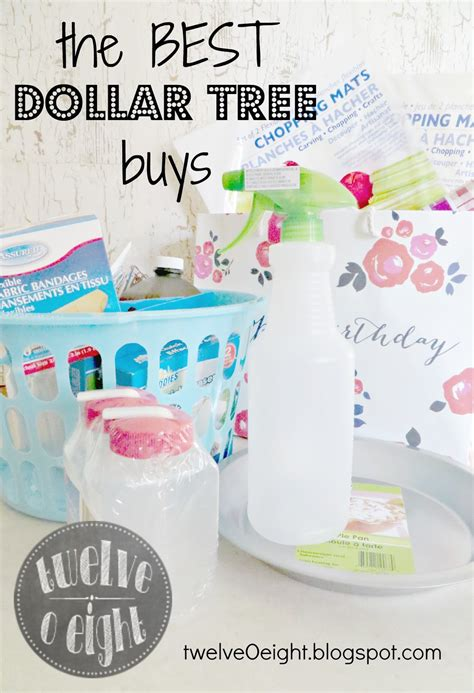 the best dollar tree items you should be buying twelveoeight