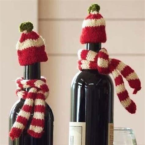 imagenes de navidad para decorar botellas ideas de botellas de vino decoradas para regalar en navidad