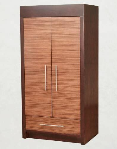 guardarropa hotel wooden two door wardrobe storage closet with drawers for