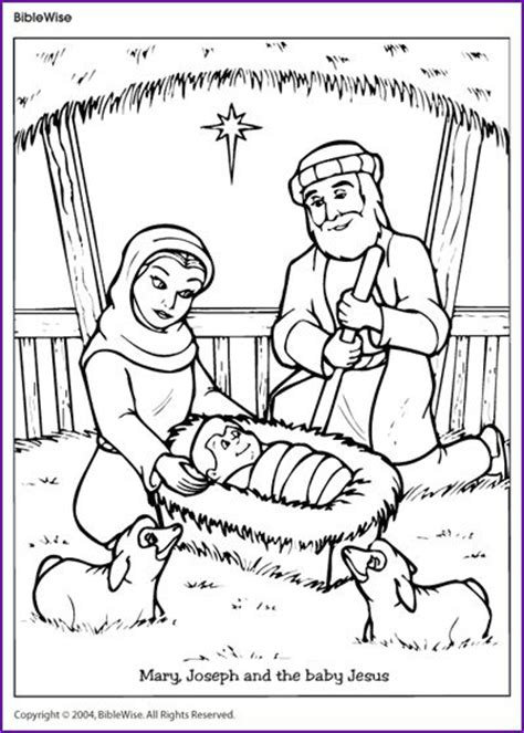 sunday school coloring pages baby jesus 1000 images about bible christmas nativity on