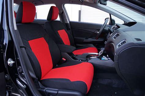 2014 honda civic sedan car seat covers honda civic 2012 2014 spacer mesh custom fit made seat