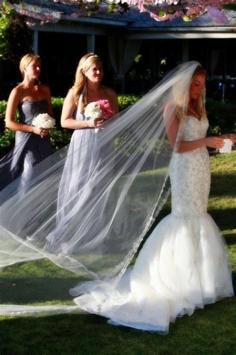 me cathedral veil and trumpet ceremony gown weddingbee photo gallery