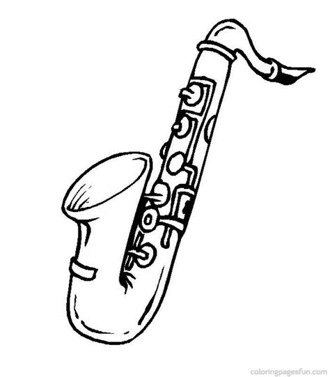 coloring pages jazz instruments musical instruments coloring pages 51 jazz pinterest
