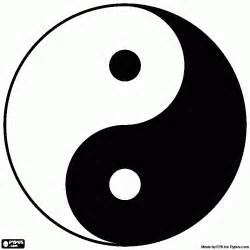 which color is yin free coloring pages of yin yang