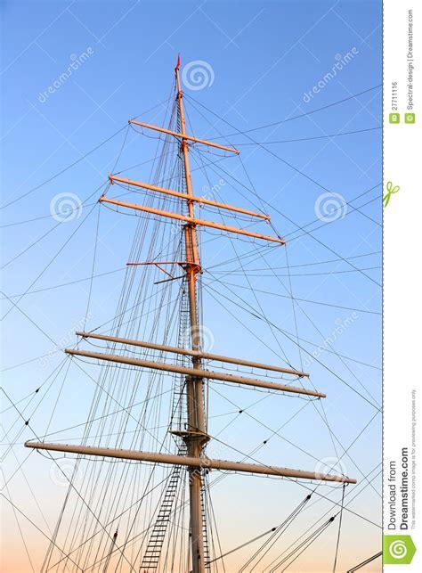 mast zeilboot ship mast stock photo image of boat navy maritime
