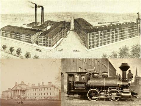 Industrial Revolution The massachusetts in the industrial revolution history of