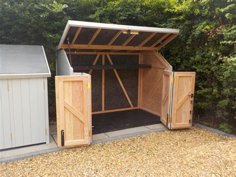 optional bi fold doors available with sheds great for