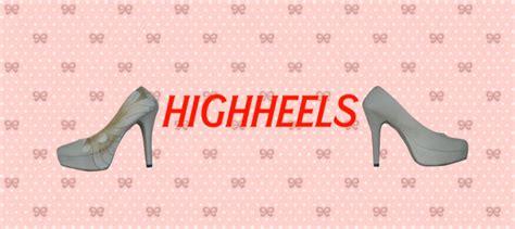 Sepatu Project High 1 animasi edukasi high heels