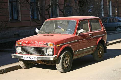Lada Niva Russia Russian Lada Niva 21213 Front