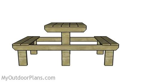 6 person picnic table two person picnic table plans myoutdoorplans free
