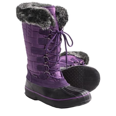 boots for snow womens snow boots