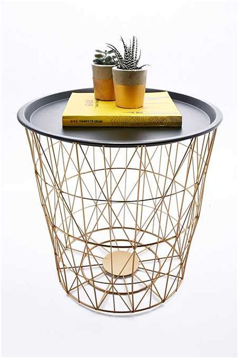 wire basket side table tables home furnishings outfitters