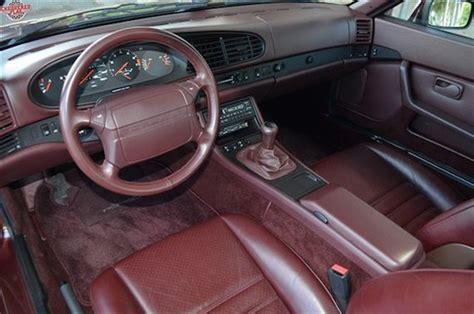 small engine service manuals 1987 porsche 944 interior lighting 1987 porsche 944 turbo with 5k miles german cars for sale blog