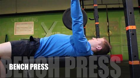 overhead bench squat the basics squat bench deadlift overhead press youtube