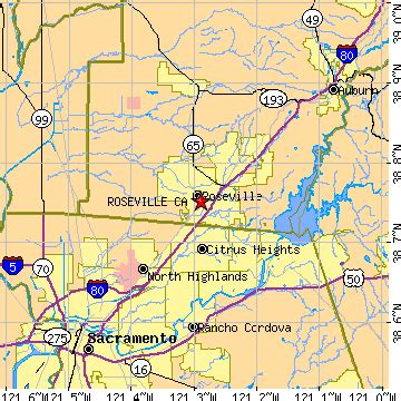 roseville california map roseville ca pictures posters news and on your