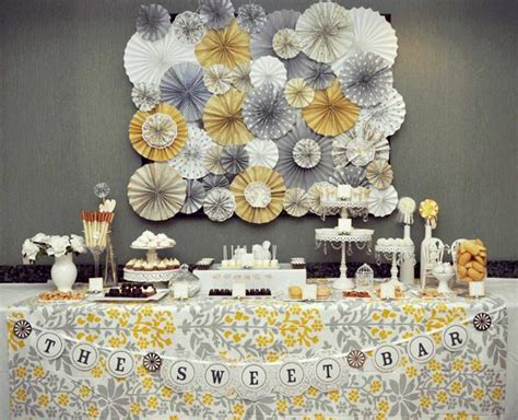 grey and yellow baby shower 5 unique baby shower ideas and themes these are