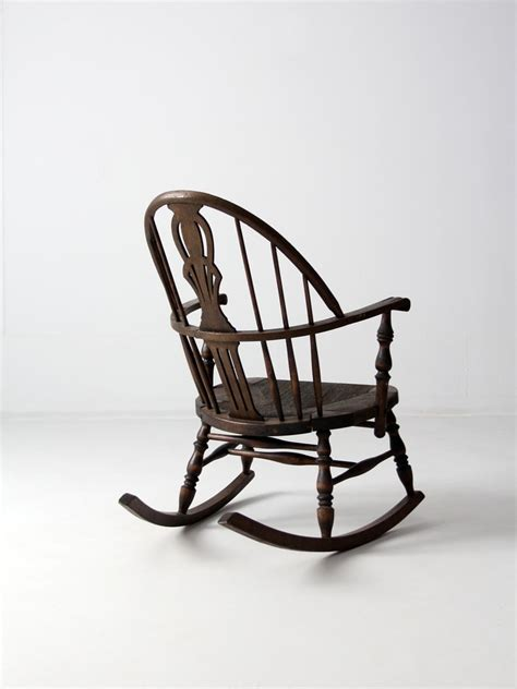 rocking chair seat antique rocking chair with seat 86 vintage