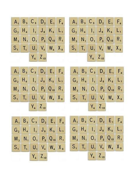 make words with scrabble letters 6 best images of printable word tiles free printable
