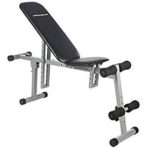 all in one workout bench ultrasport all in one weight bench adjustable workout