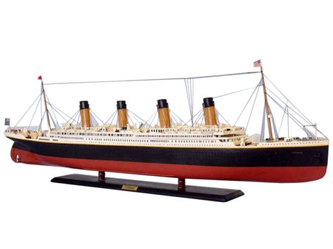 titanic model boat for sale buy rms titanic limited model cruise ship 50 inch ship