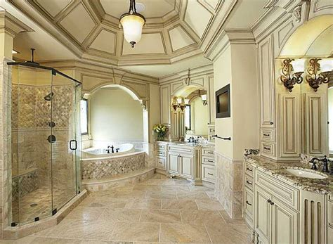 traditional master bathroom with undermount sink by emily