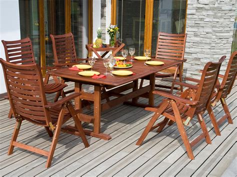 wooden patio furniture tips for refinishing wooden outdoor furniture diy