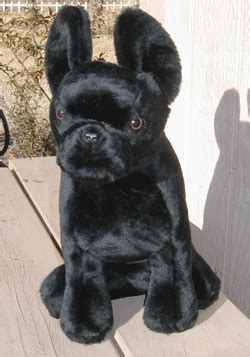 all black dogs stuffed bull from kathy s kreations