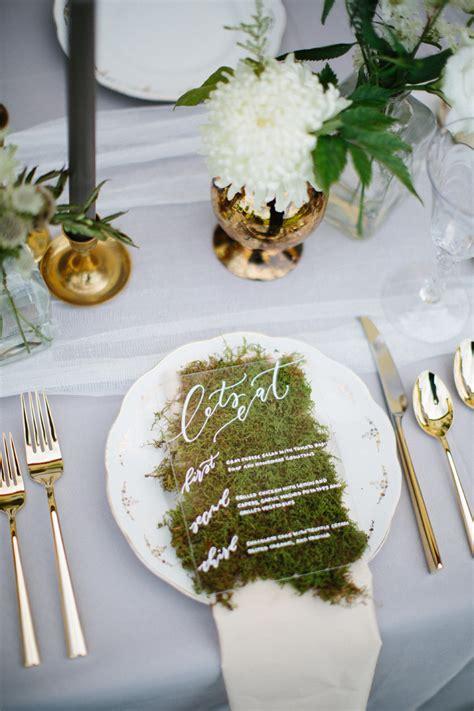 wedding stationery inspiration creative wedding menu ideas