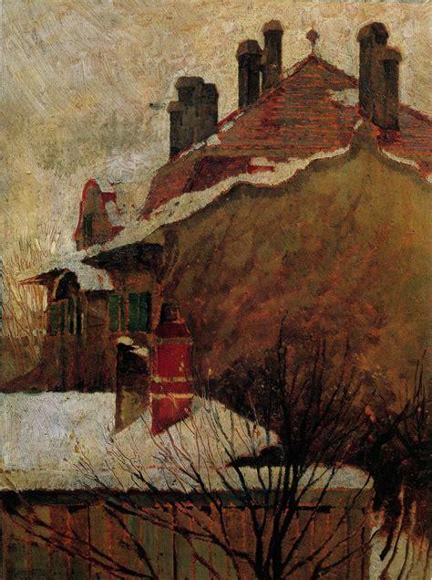 Egon Schiele Quot Houses In Winter Quot 1907 Egon Schiele In